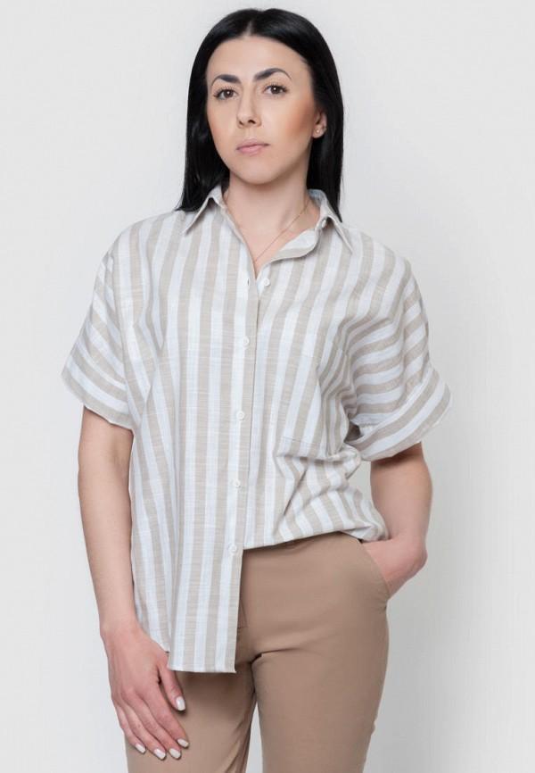 женская рубашка arber, бежевая