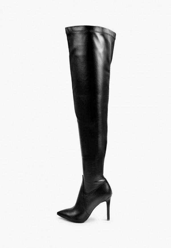 женские ботфорты baldi, черные