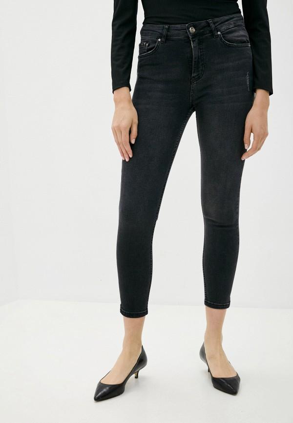 женские джинсы скинни defacto, черные
