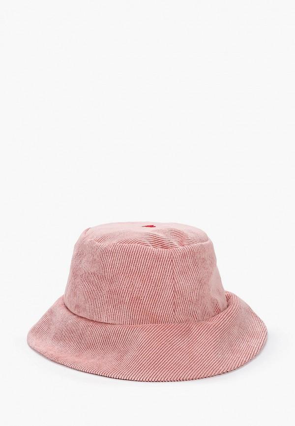 женская панама animals, розовая