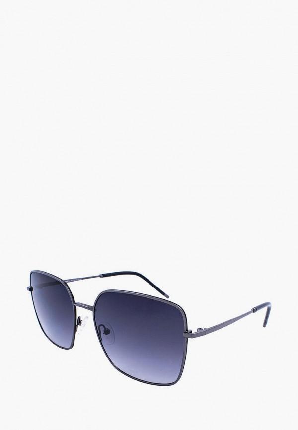 женские квадратные солнцезащитные очки furlux, синие