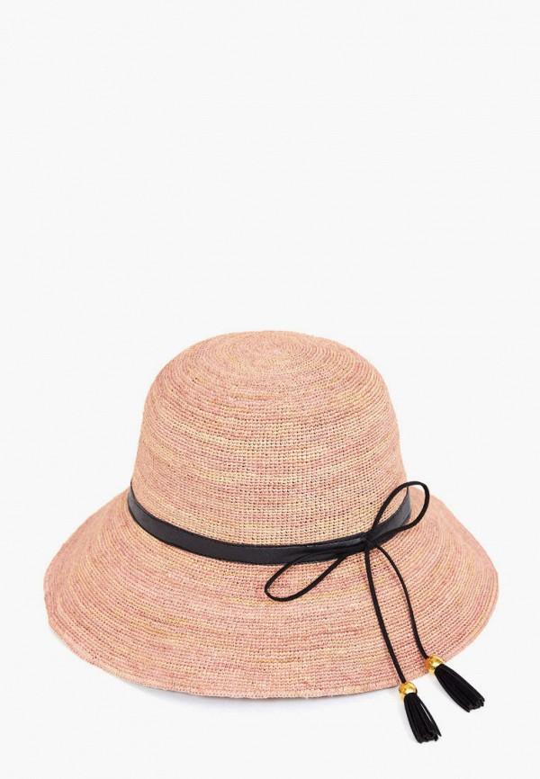 женская шляпа finn flare, розовая