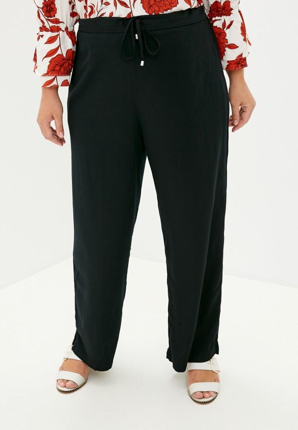 женские брюки клеш incity, черные