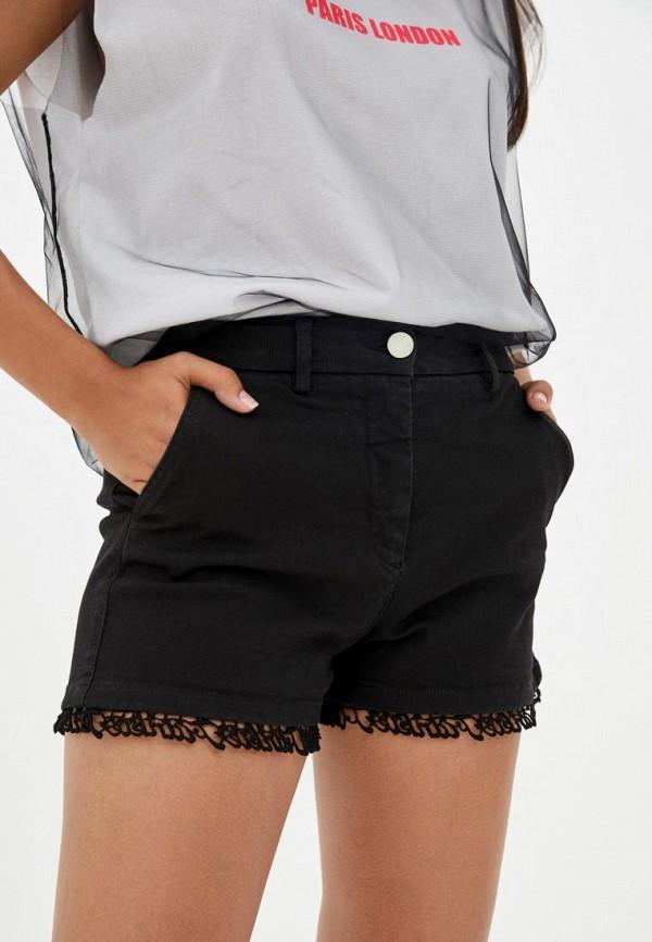 женские повседневные шорты frankie morello, черные