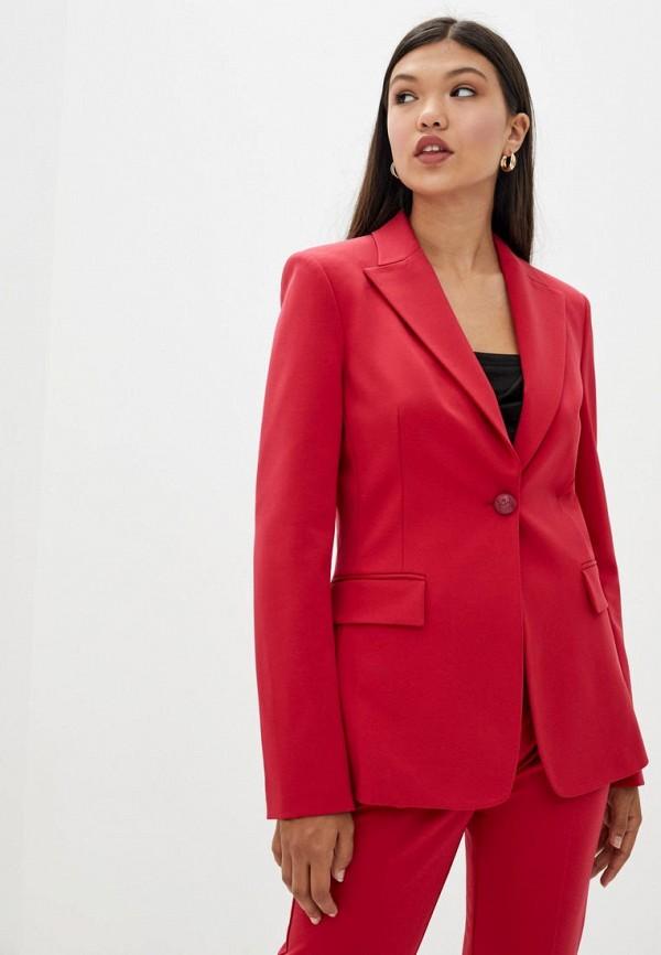 женский пиджак pinko, розовый