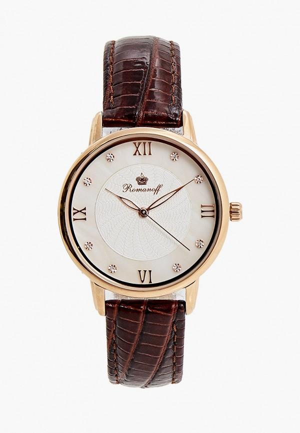 женские часы romanoff, коричневые