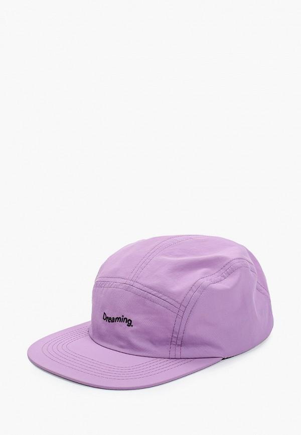 женская бейсболка zakka, фиолетовая