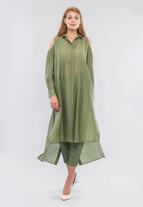 женская туника maxa, зеленая