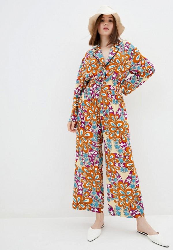 женский комбинезон pinko, разноцветный
