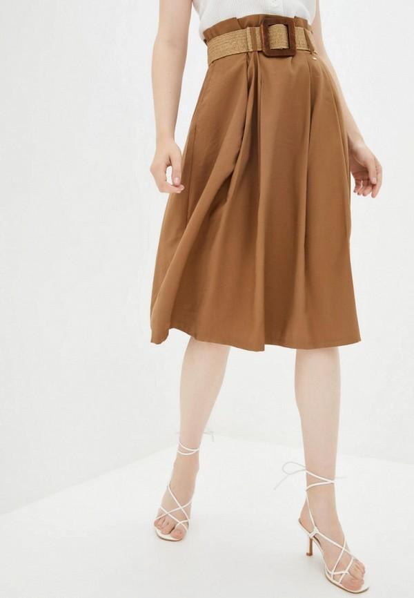женская юбка silvian heach, бежевая