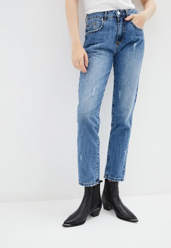 женские джинсы frankie morello, голубые