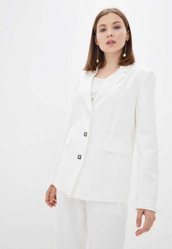 женский пиджак silvian heach, белый