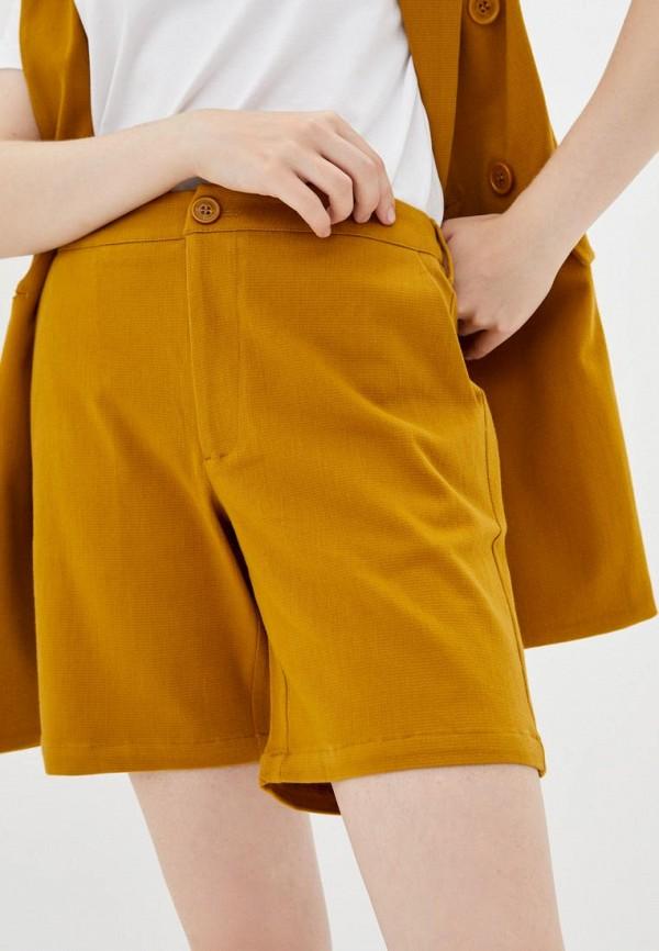 женские повседневные шорты silvian heach, бежевые