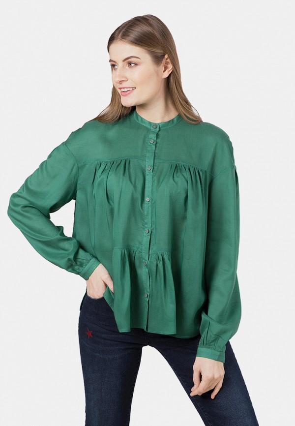 женская блузка mr520, зеленая
