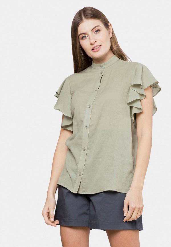 женская блузка mr520, хаки