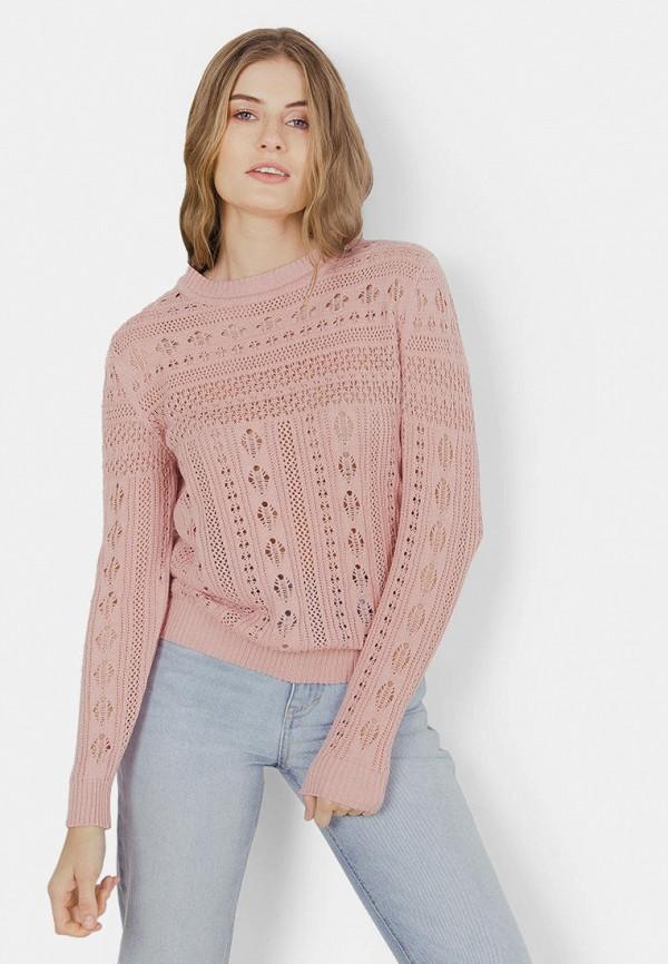 женский джемпер mr520, розовый