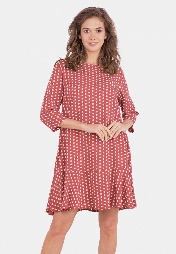 женское повседневные платье mr520, розовое