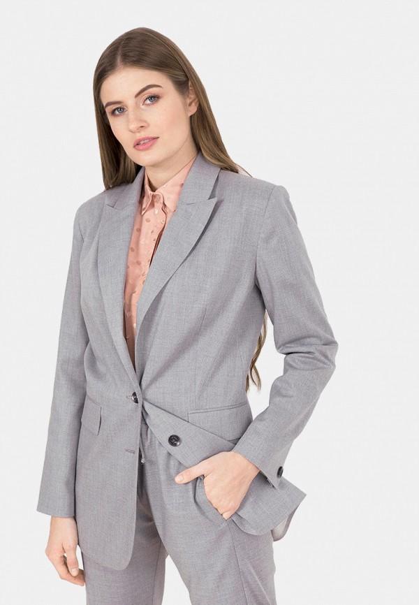 женский пиджак mr520, серый