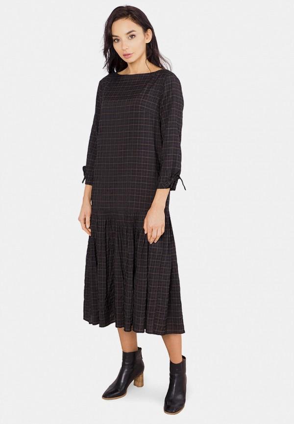 женское повседневные платье mr520, черное
