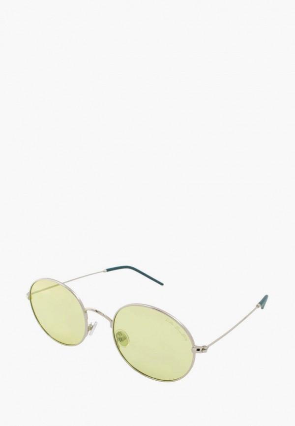 женские круглые солнцезащитные очки rita bradley, серебряные