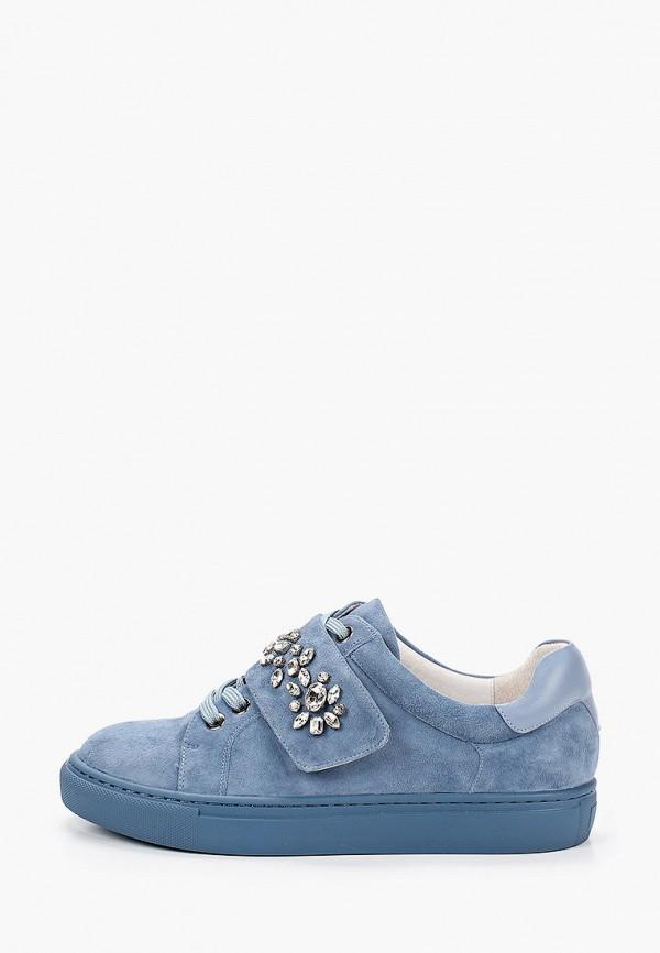 женские низкие кеды vitacci, синие