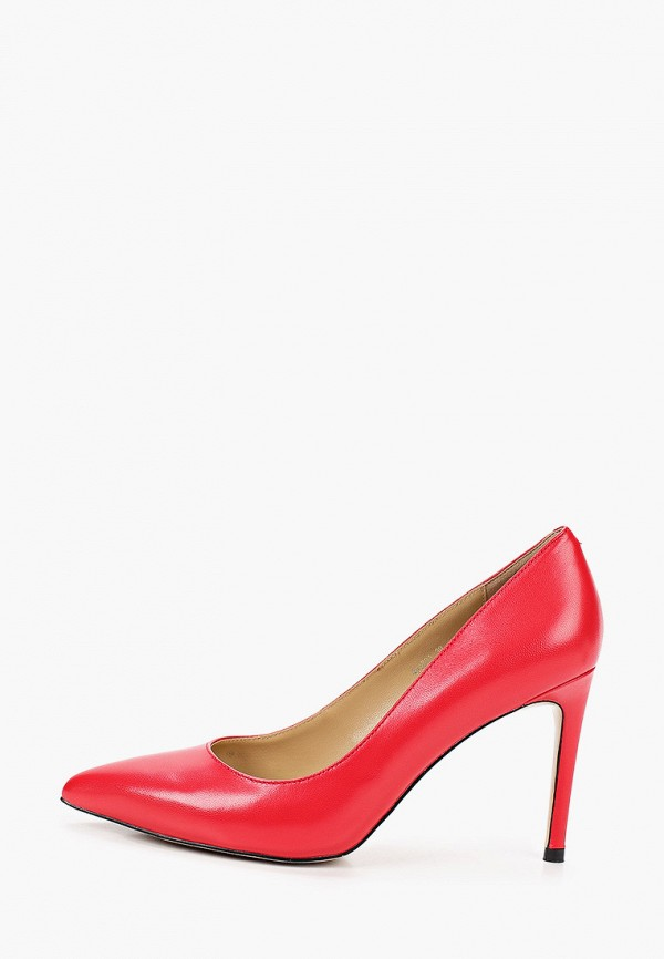 женские туфли-лодочки vitacci, красные