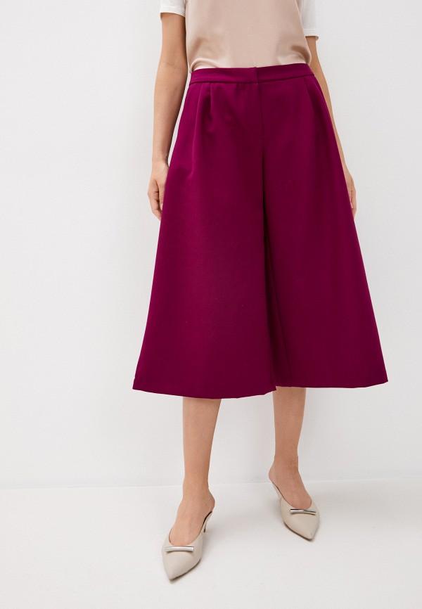 женские брюки кюлоты medea maris, фиолетовые