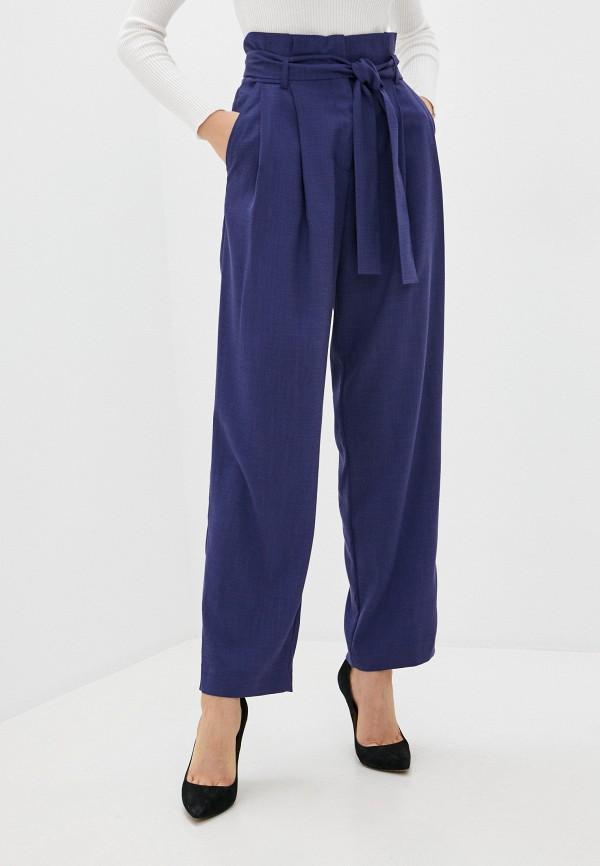 женские повседневные брюки mira rico, синие