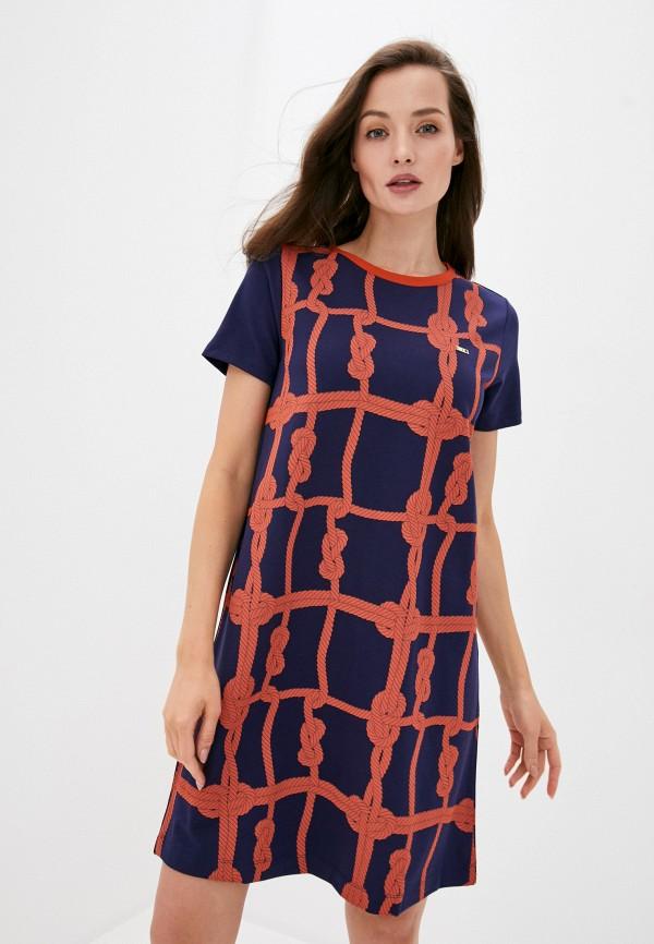 женское повседневные платье u.s. polo assn, синее