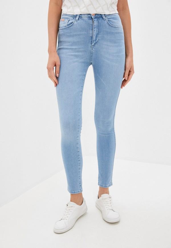 женские джинсы скинни u.s. polo assn, голубые