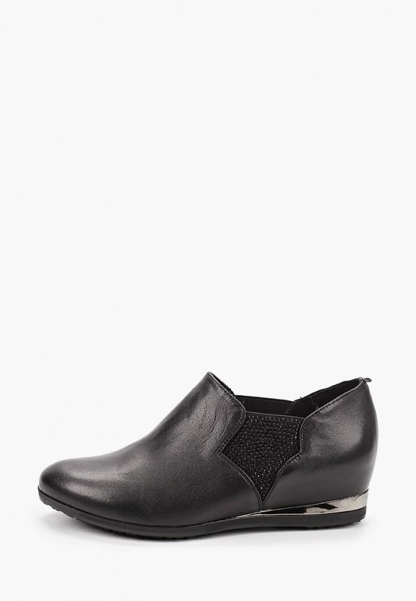 Туфли Ascalini черного цвета