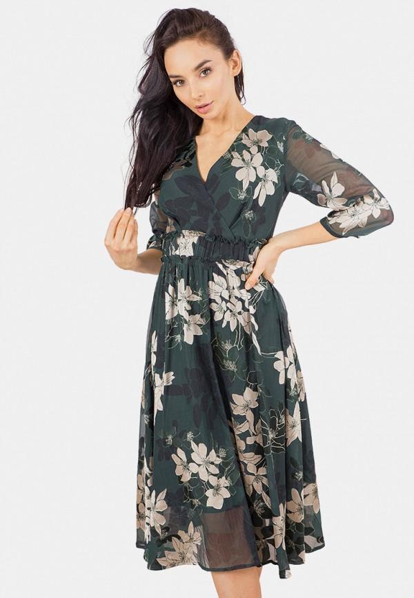 женское платье mr520, зеленое
