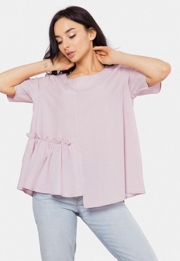 женская блузка mr520, фиолетовая