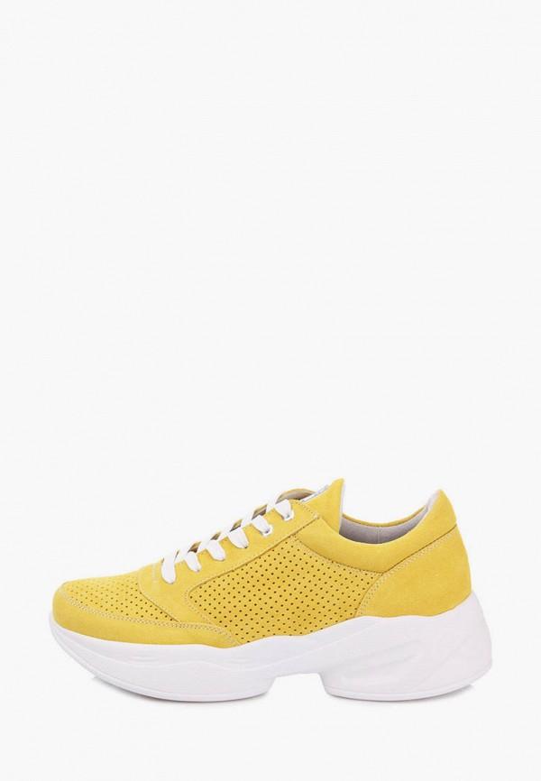 женские кроссовки bosa, желтые