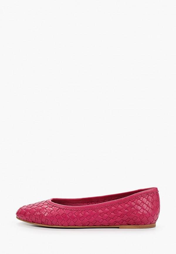 женские балетки riveri, розовые