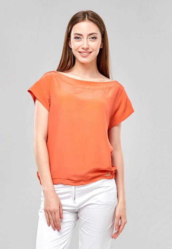 женская блузка ora, оранжевая
