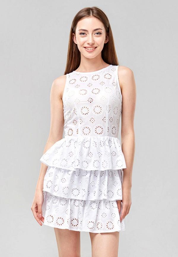 женское повседневные платье ora, белое