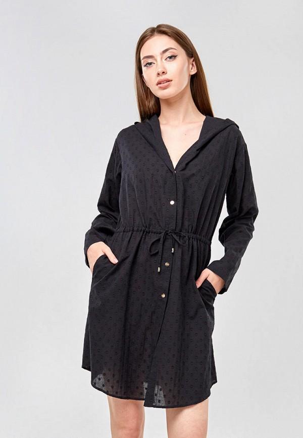 женское платье ora, черное