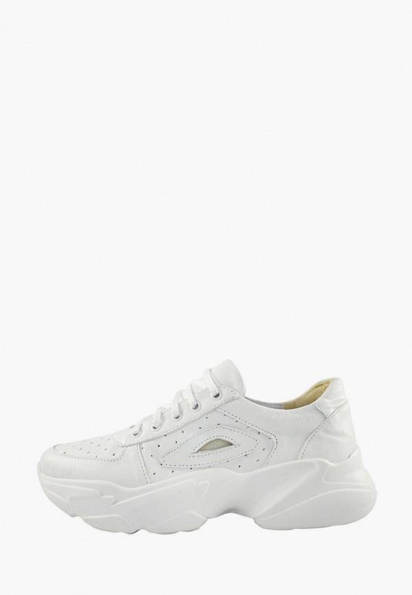 женские кроссовки polin, белые