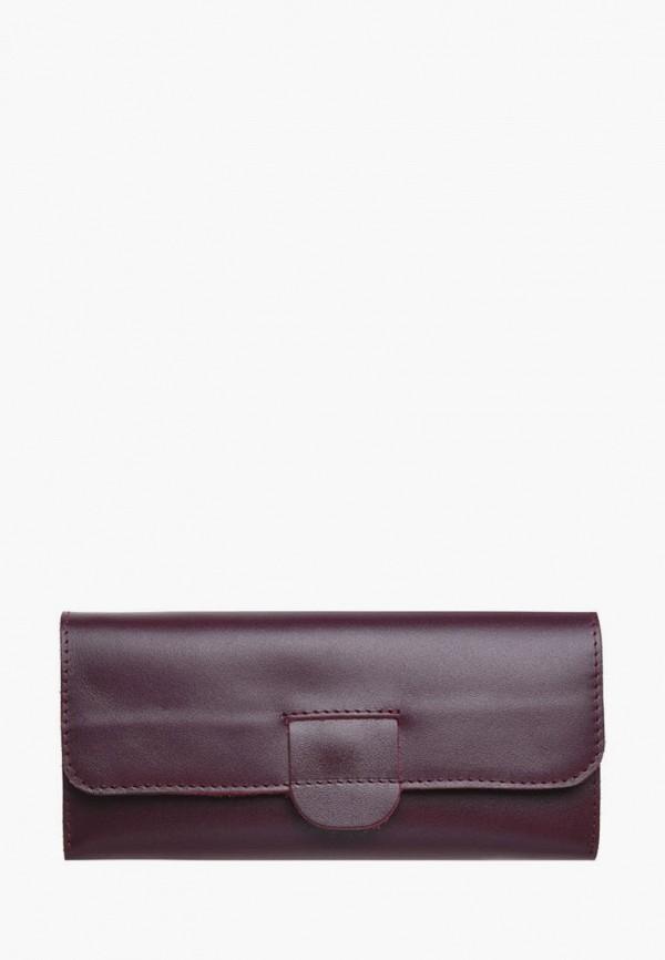 женский кошелёк bag republic, бордовый