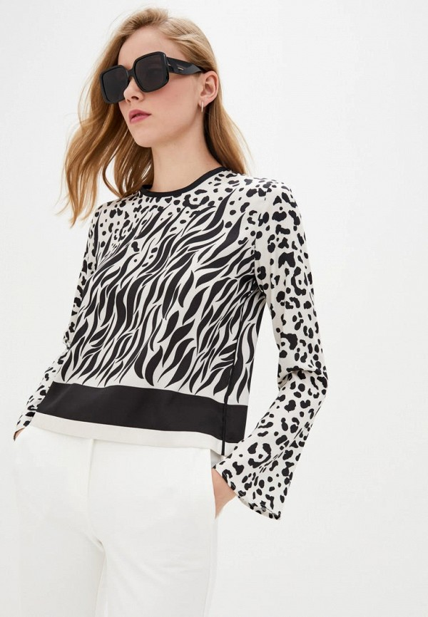 женская блузка pinko, бежевая