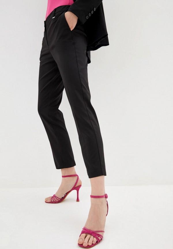 женские классические брюки silvian heach, черные