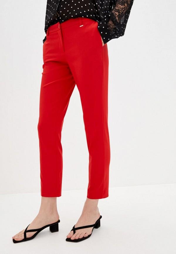 женские повседневные брюки silvian heach, красные