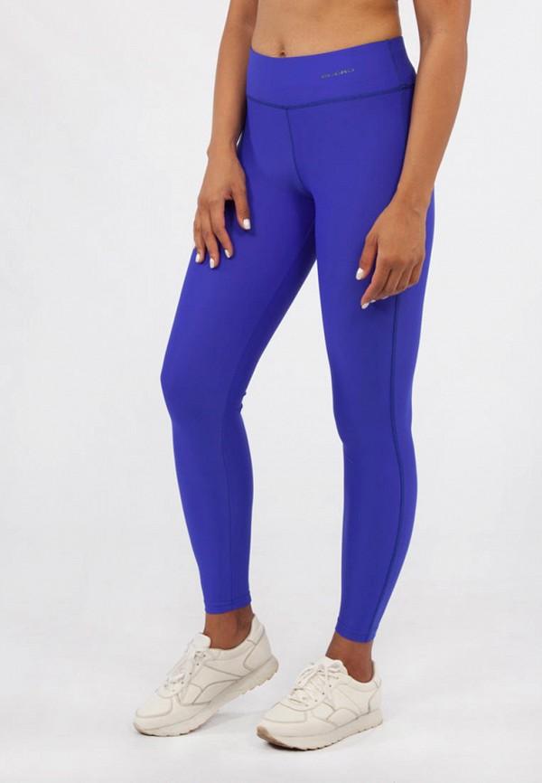 женские леггинсы bodro design, синие