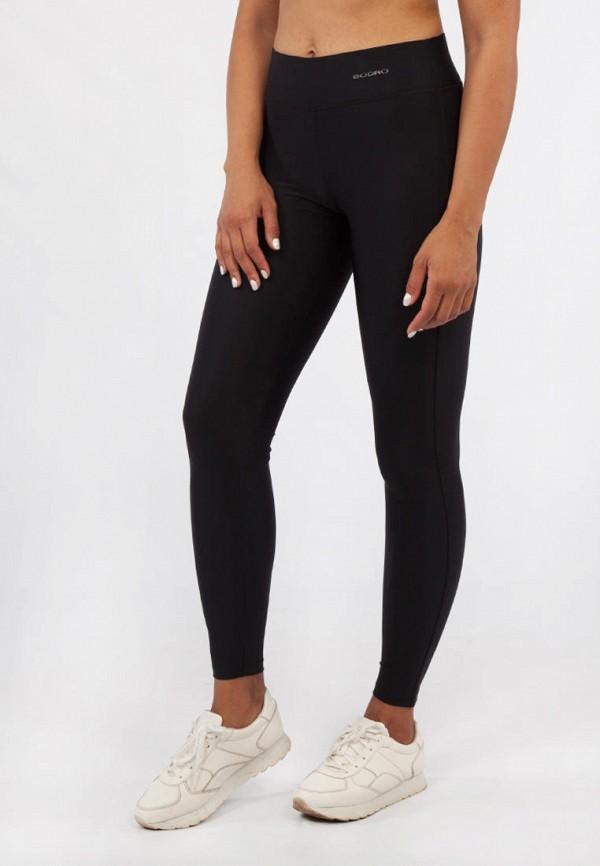 женские леггинсы bodro design, черные