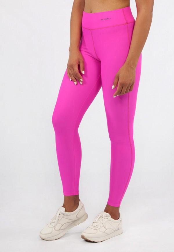 женские леггинсы bodro design, розовые