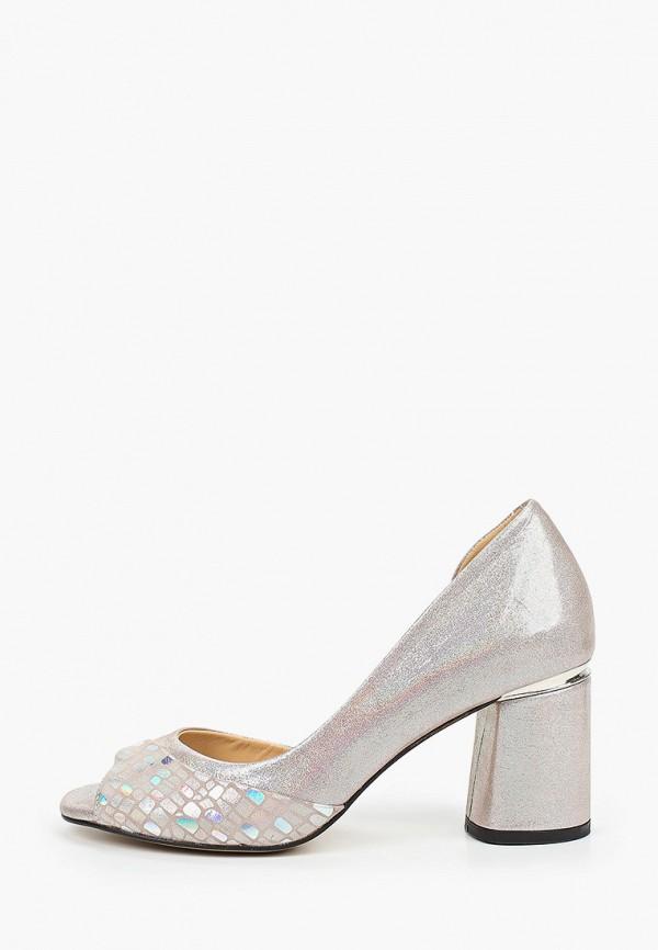 женские туфли с открытым носом stivalli, розовые