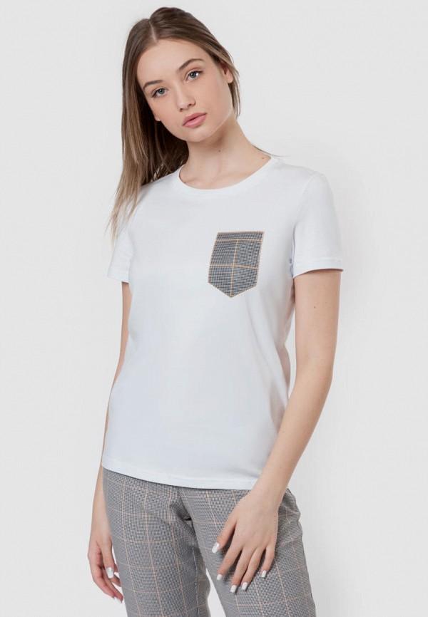 женская футболка arber, белая