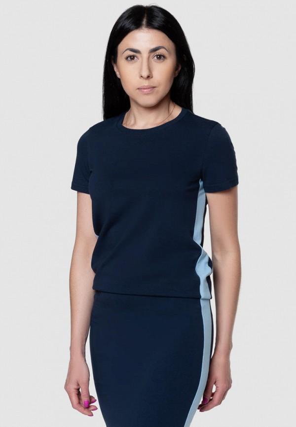 женская футболка arber, синяя