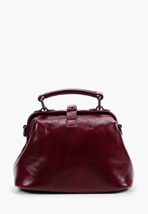женская сумка с ручками alexander tsiselsky, бордовая